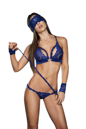 Royal Blue Four Piece Set