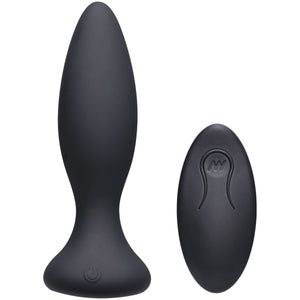 Rechargeable Silicone Anal Plug With Remote