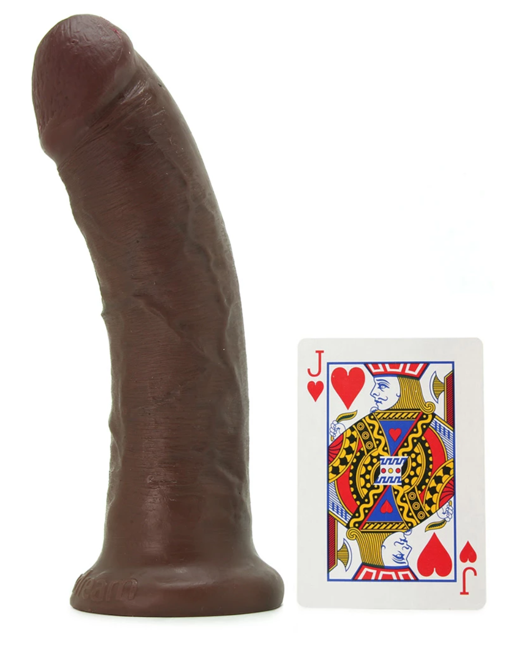 "King cock 8"" inch Dildo brown"