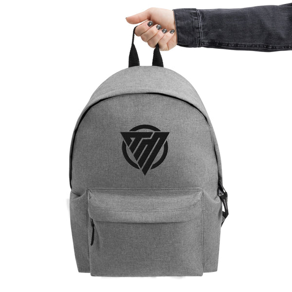 Embroidered Backpack Icon