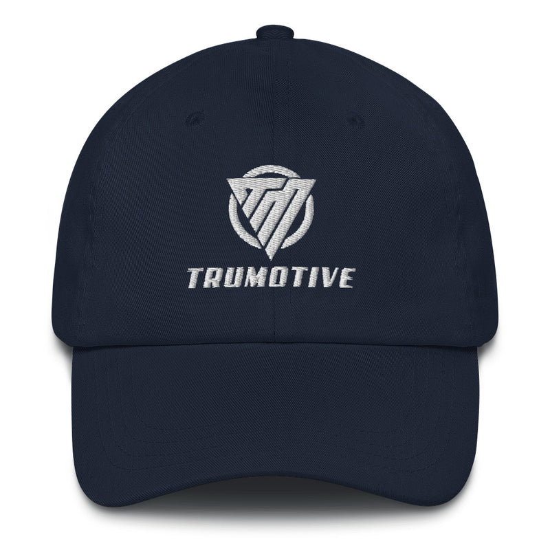 Dad Hat White TruMotive