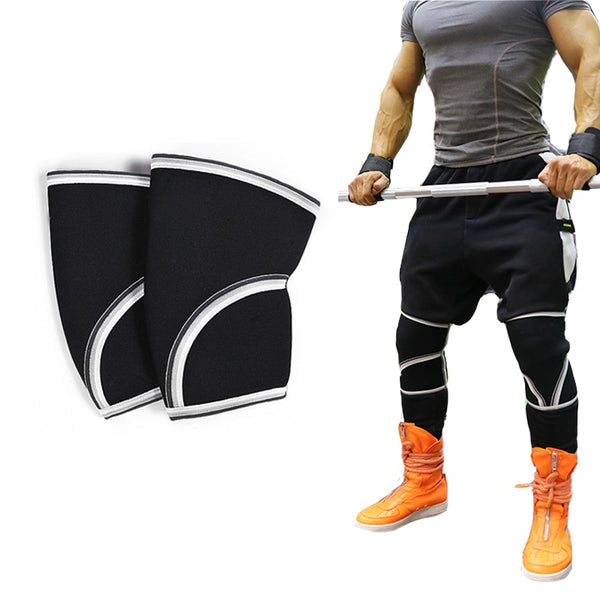 Knee Sleeve Squat Support Compression Pads