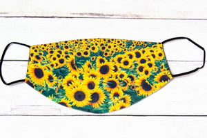 Sunflower Face Mask- Adult