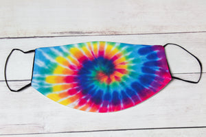 Tie-Dye Face Mask- Adult