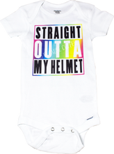 Load image into Gallery viewer, Rainbow Helmet Onesies