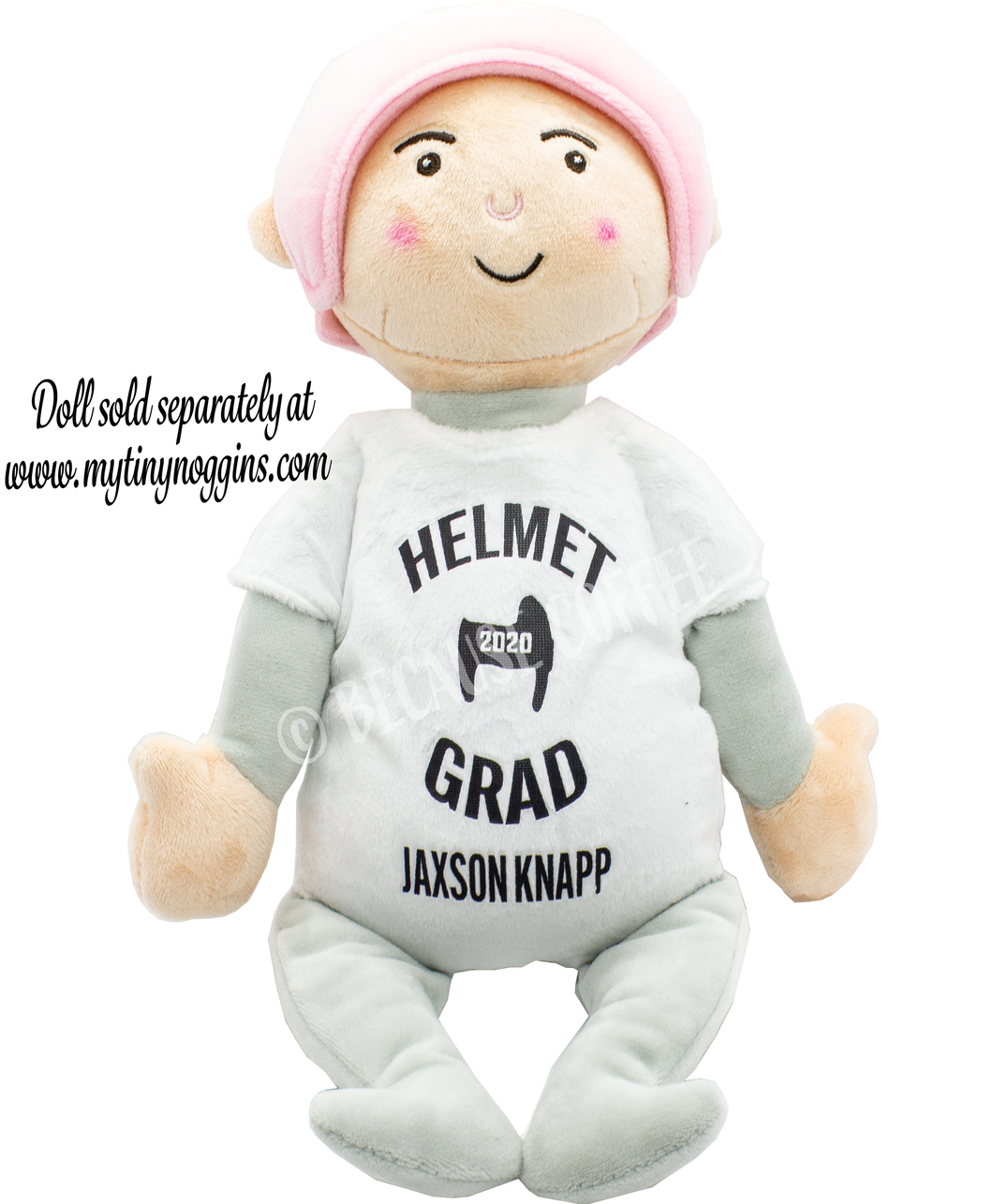Tiny Noggins Graduation Onesie