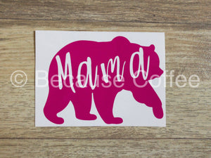 Mama Bear- Vinyl Car Decal