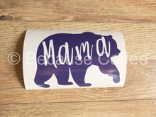 Load image into Gallery viewer, Mama Bear- Vinyl Car Decal