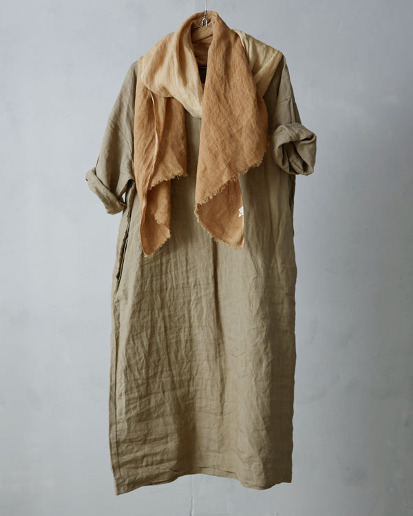 Roomy Linen Dress