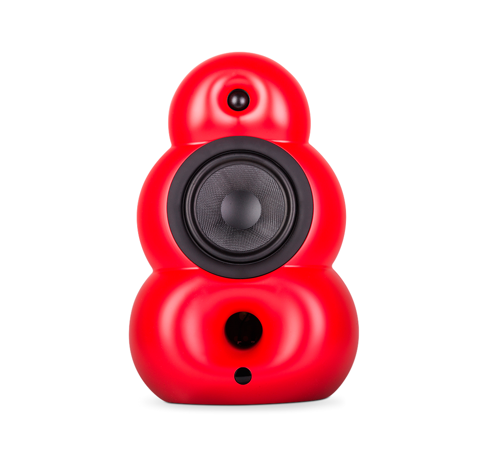 Podspeakers BigPod MK3 Red HiFi/Passive Speaker no background