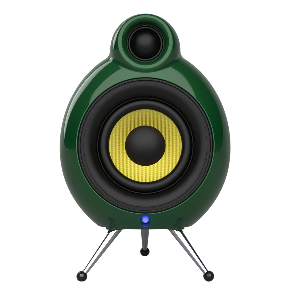 Podspeakers MicroPod Air Racing Green WiFi Speaker no background