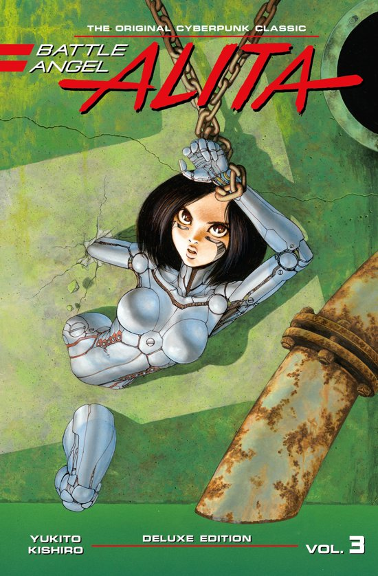Battle angel Alita vol.3 deluxe edition