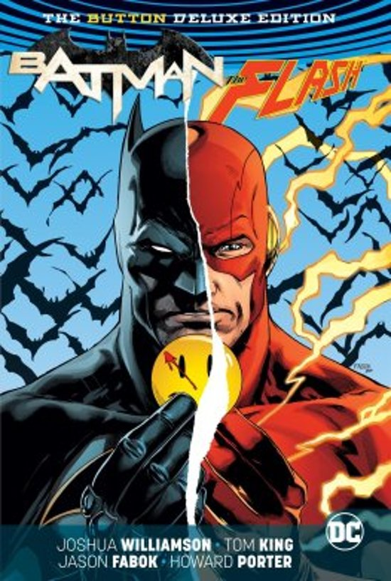 Batman/The Flash. The button Deluxe edition