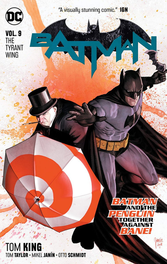 Batman 9. The tyrant wing