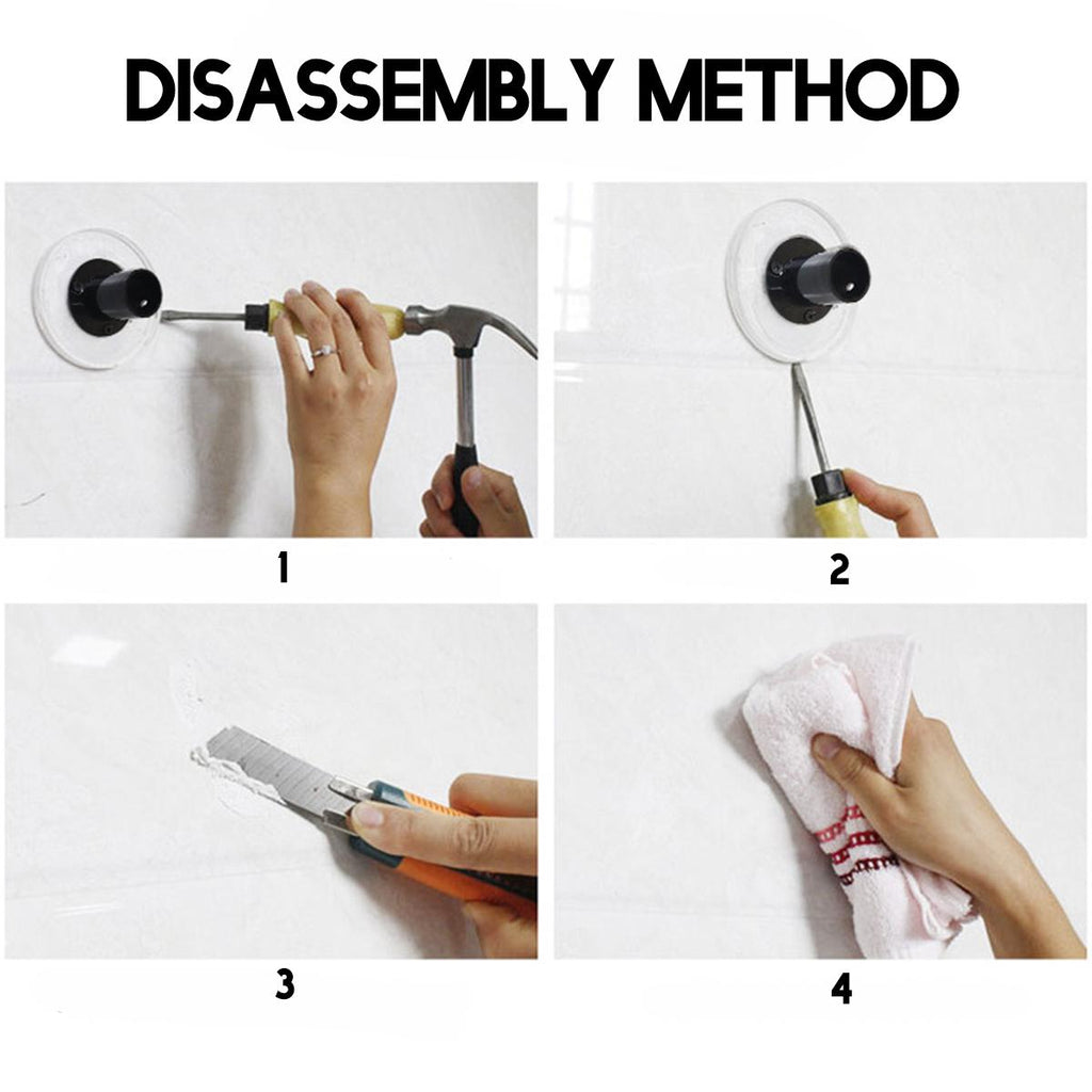 Black Extendable Corner Shower Curtain Rod