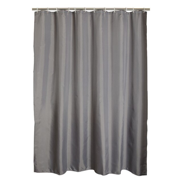 GIANTEX Gray Waterproof Shower Curtains