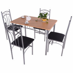 Goplus 5PCS Dining Room Set