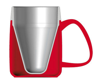 Tasse isotherme Vital Easy 1 anse rouge