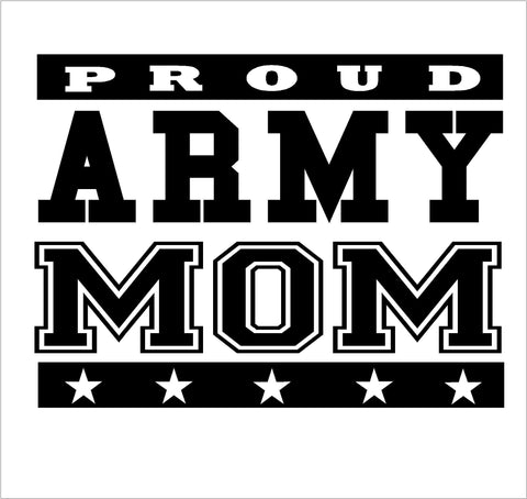 Army Mom decal - OGRAPHICS