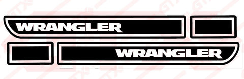 jeep wrangler decal set /2 - OGRAPHICS