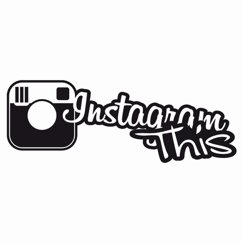 Instagram decal x22 - OGRAPHICS