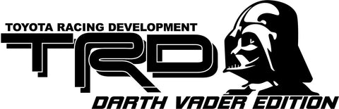TRD DECALS SET Darth Vader Edition - OGRAPHICS