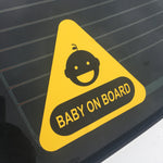 Baby on board peel and stick - OGRAPHICS