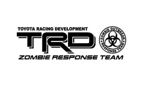TRD DECALS SET ZOMBIE EDITION