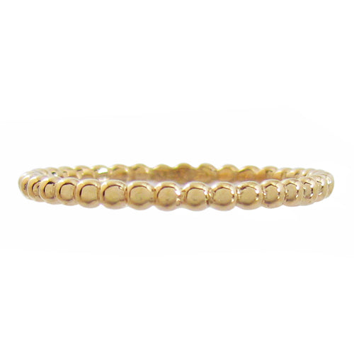 TESSA STACKING RING IN YELLOW GOLD