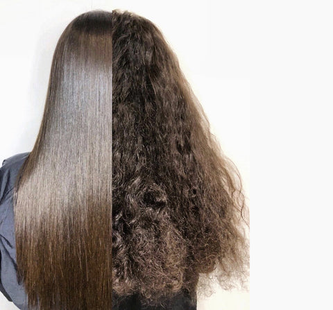 japanese straightening before and after