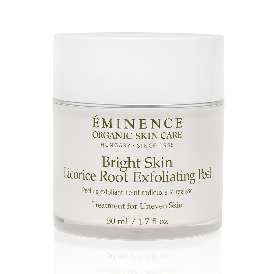 Eminence Organics Bright Skin Licorice Root Exfoliating Peel - Muse Hair & Beauty Salon