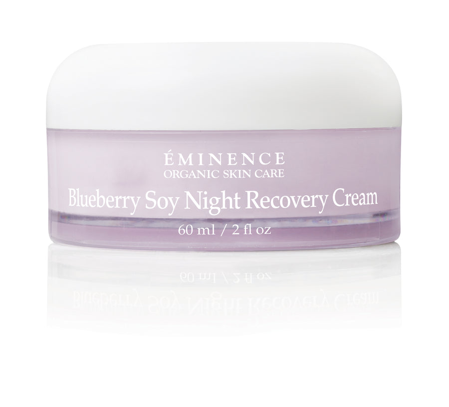 Eminence Organics Blueberry Soy Night Recovery Cream - Muse Hair & Beauty Salon