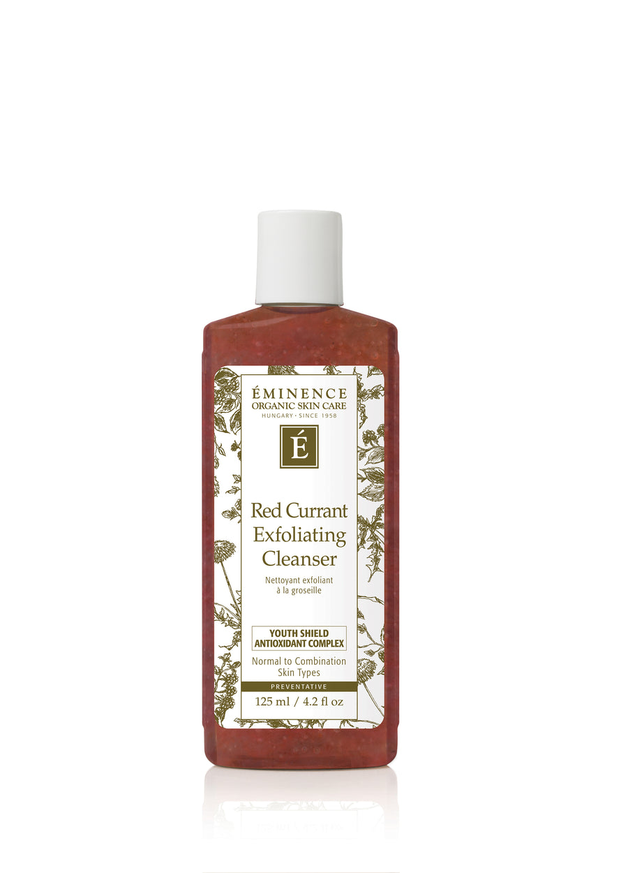 Eminence Organics Red Currant Exfoliating Cleanser - Muse Hair & Beauty Salon