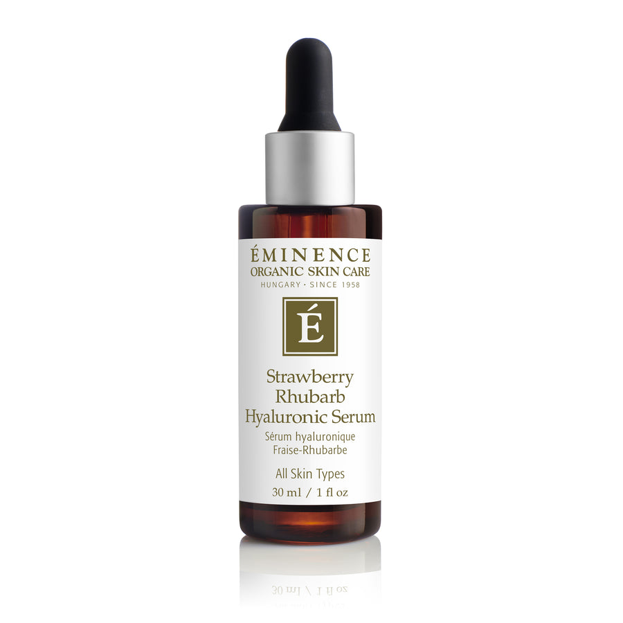 Eminence Organics Strawberry Rhubarb Hyaluronic Serum - Muse Hair & Beauty Salon