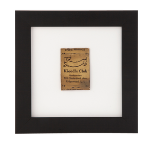 Framed Vintage Matchbook