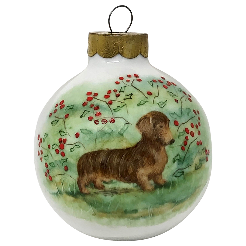 Classic Wirehair <br>Globe Ornament