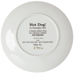 """Hot Dog!"" Collectible Plate"