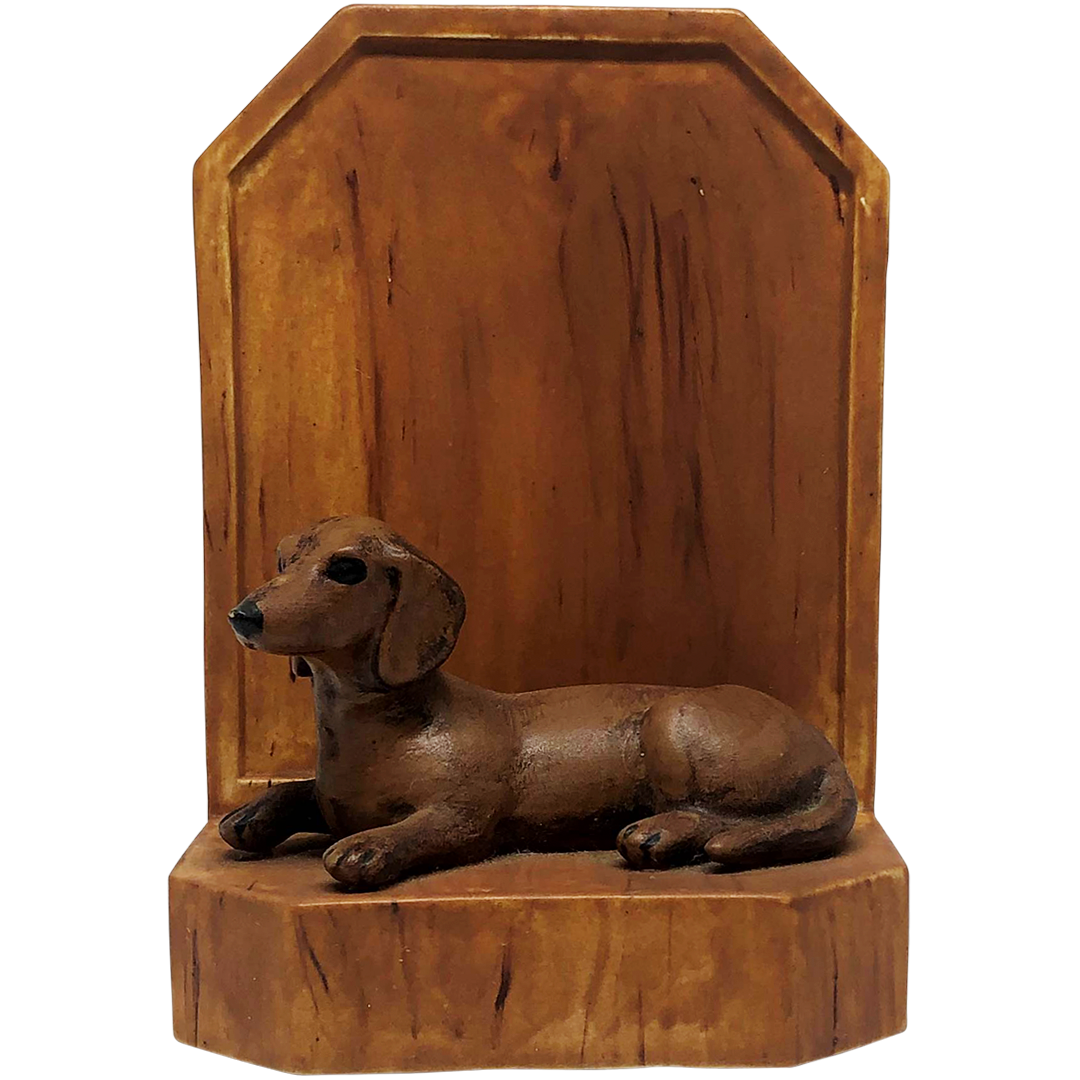 Dachshund Bookend