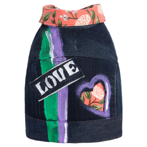 'Love' Denim Vest