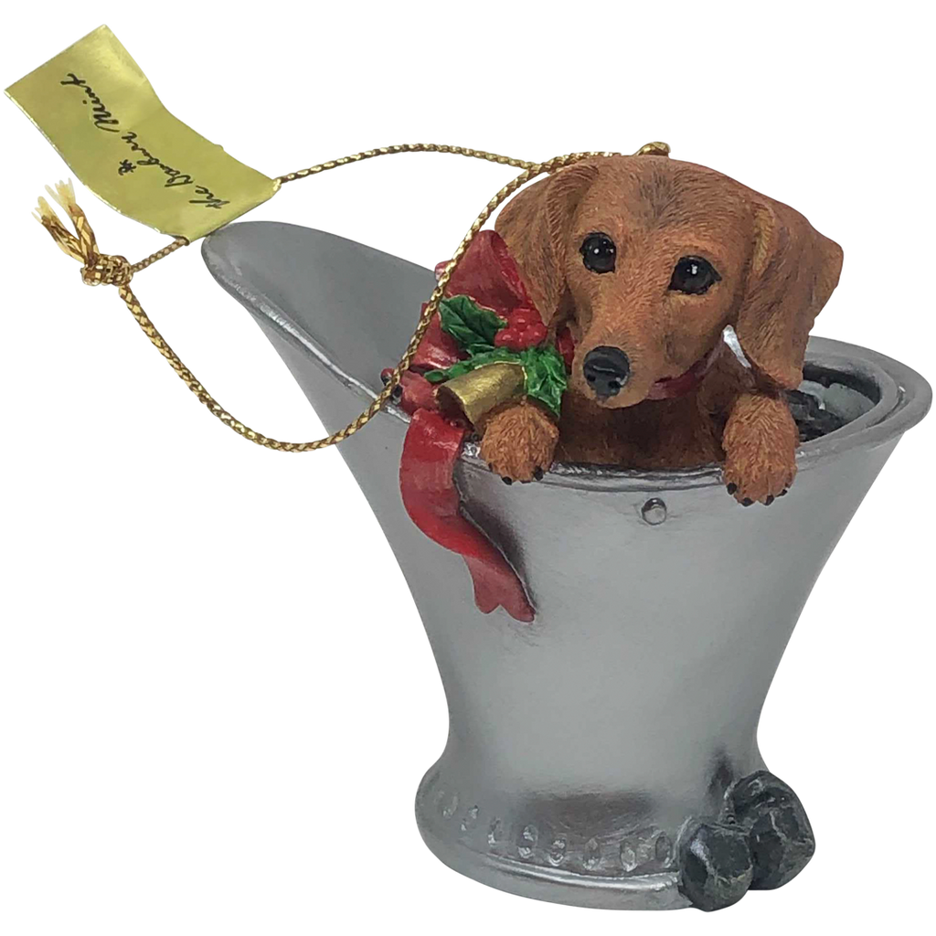 Chill Dachshund Ornament