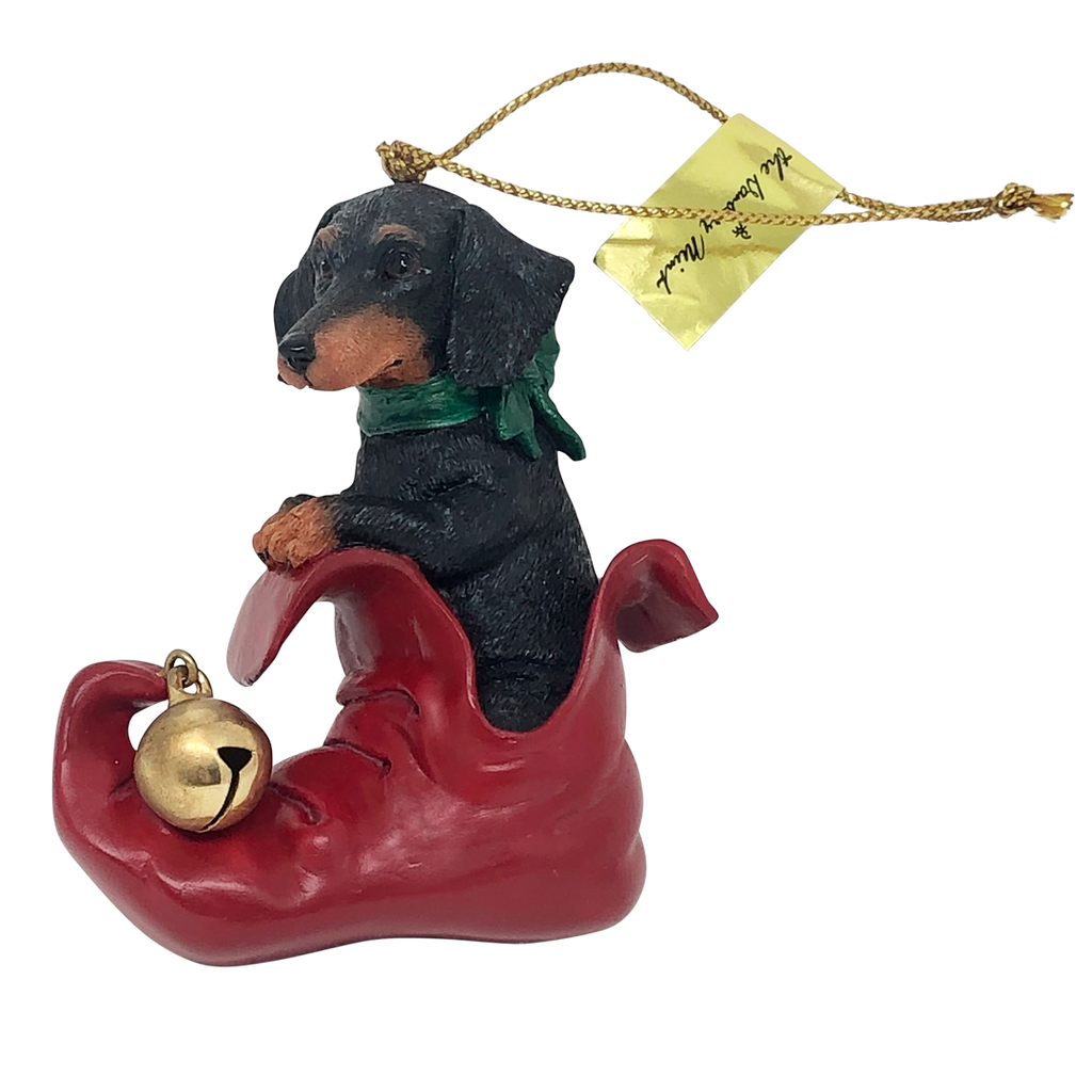 Dachshund Stocking Ornament