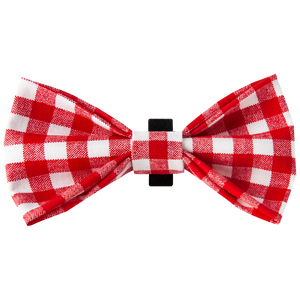 Doxie Gingham Bowtie