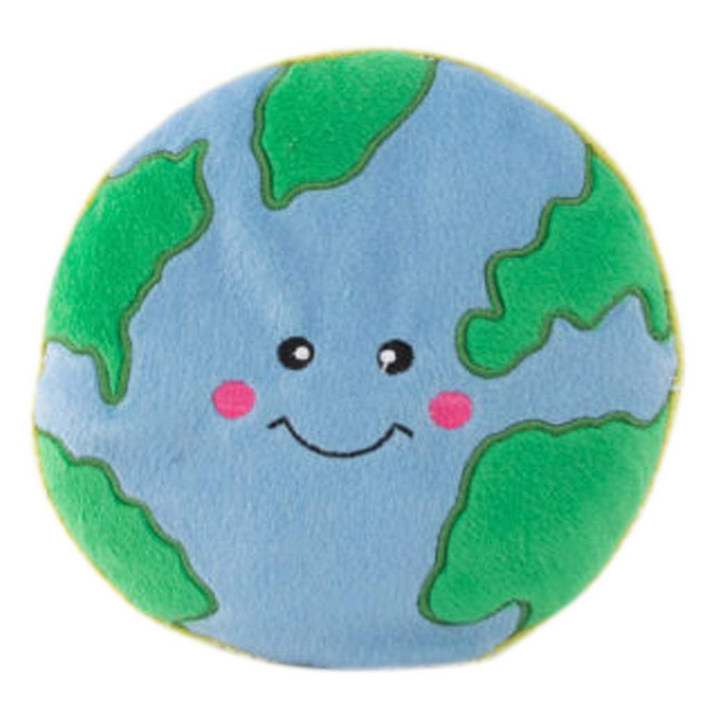 Happy Earth Squeaky Toy
