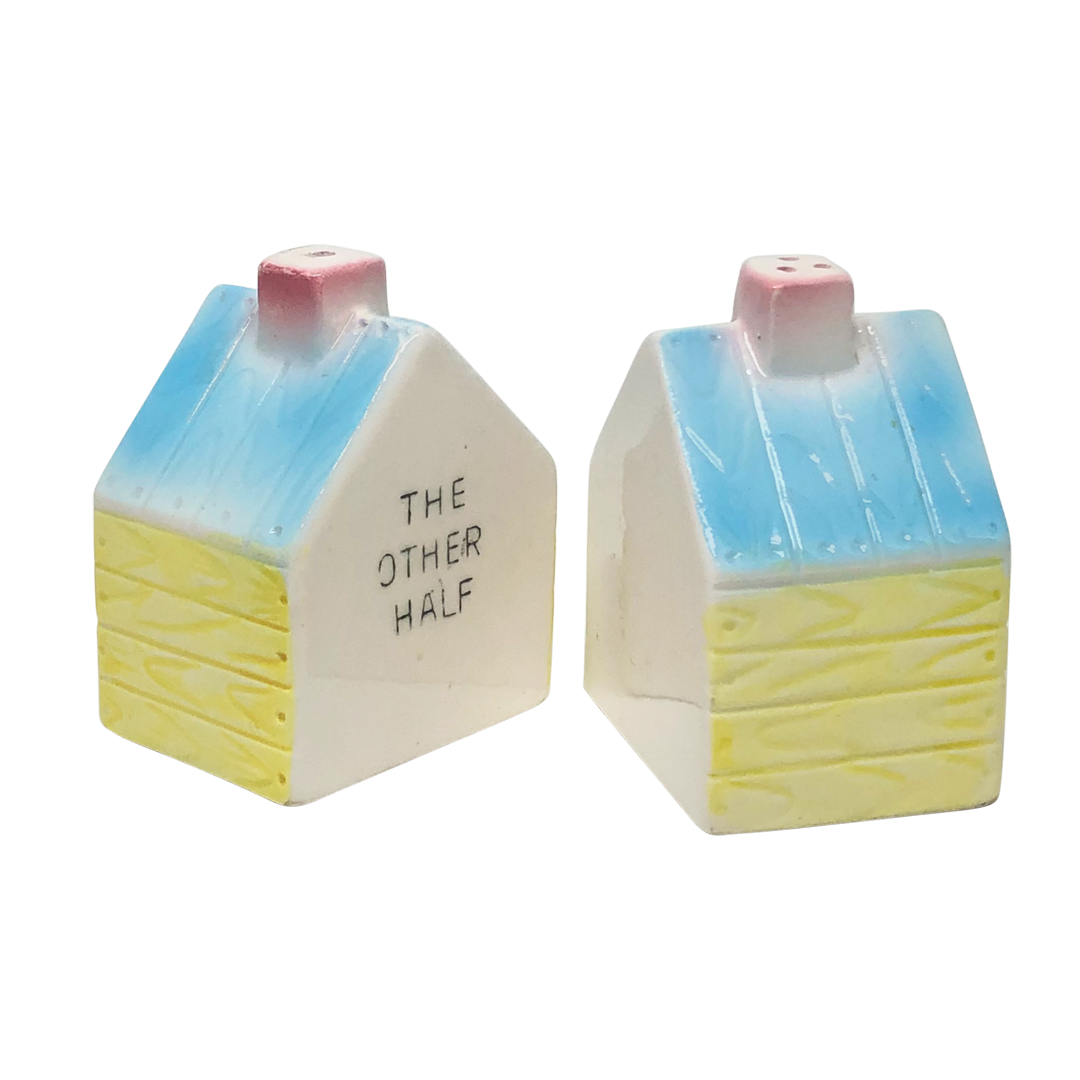 """In the Doghouse"" Salt & Pepper Shakers"