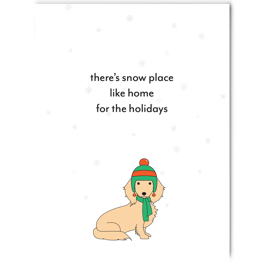 Set of Dachshund Holiday Greeting Cards