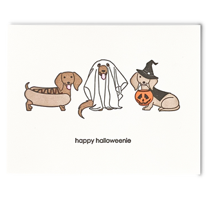 Happy Halloween(ie) Card