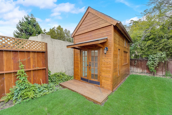 How to Transform a Shed into the Perfect Backyard Office