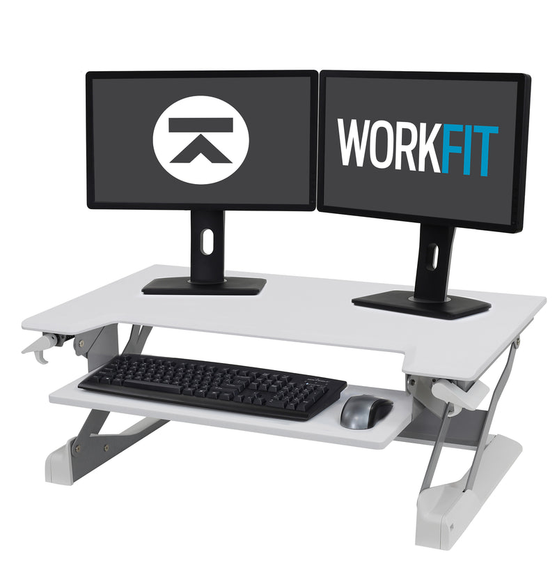 WorkFit-TL Standing Desk Workstation