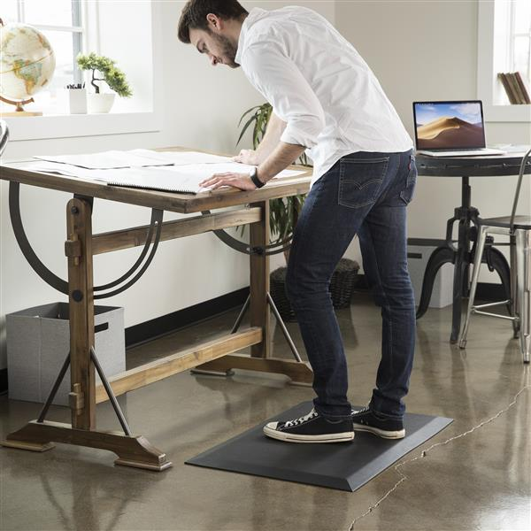 Sit-stand ant-fatigue mat - home office