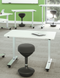 Birdi Perching stool - with sit to stand office desk